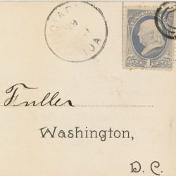 Postcard Petitions to Label Oleomargarine Sent to W. E. Fuller from Citizens from Iowa