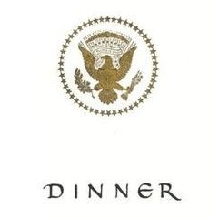 Dinner menu, President Abboud of the Republic of the Sudan