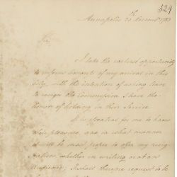 Letter from George Washington to Congress Inquiring About the Preferred Form of His Resignation
