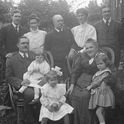 Photograph of a Mr. Sutherland and Family
