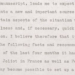 Letter from Albert Einstein to President Franklin D. Roosevelt