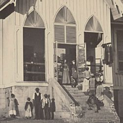 Photograph of Store for Freedmen in Beaufort, South Carolina