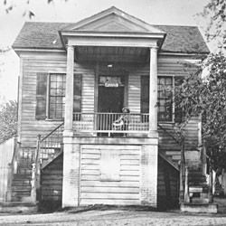 Photograph of Office for Freedmen in Beaufort, South Carolina