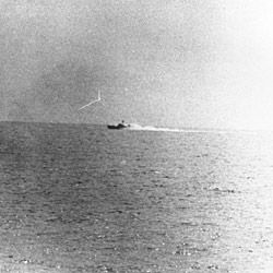 Vietnamese Torpedo Boat During the Gulf of Tonkin Incident