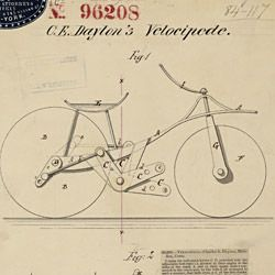 Drawing of Velocipede