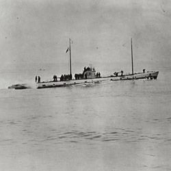 Photograph of an U-111 German Submarine