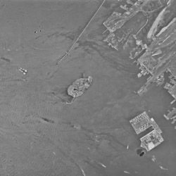 Aerial Photograph of the Statue of Liberty
