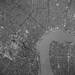 Aerial Photograph of New Orleans, Louisiana