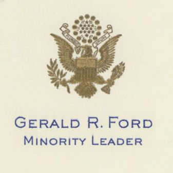Letter from Gerald Ford to President Richard Nixon