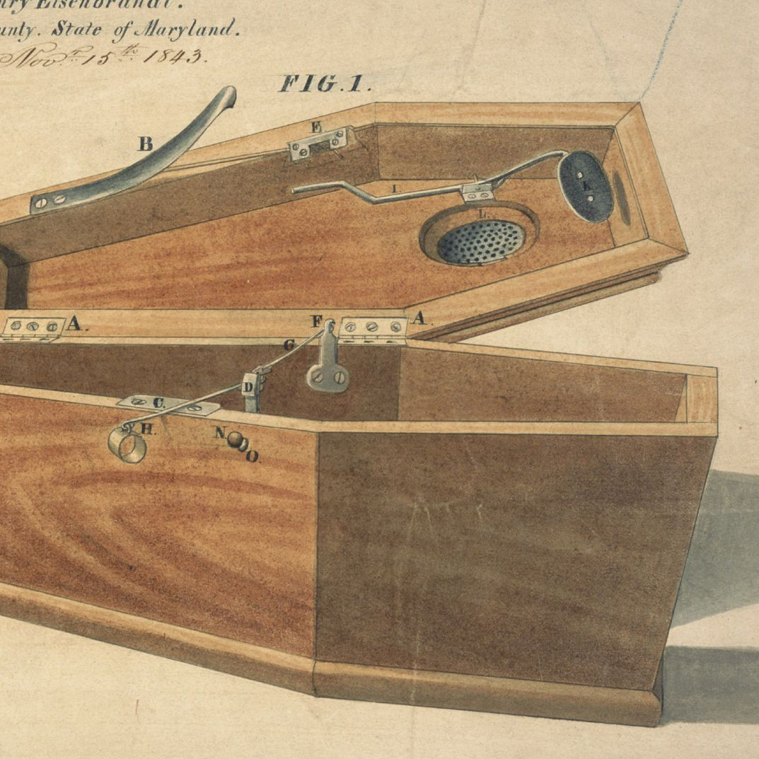 Drawing for a Life - Preserving Coffin