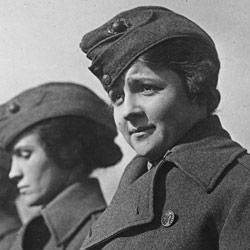Photograph of Marine Corps First Class Private Edith Macies