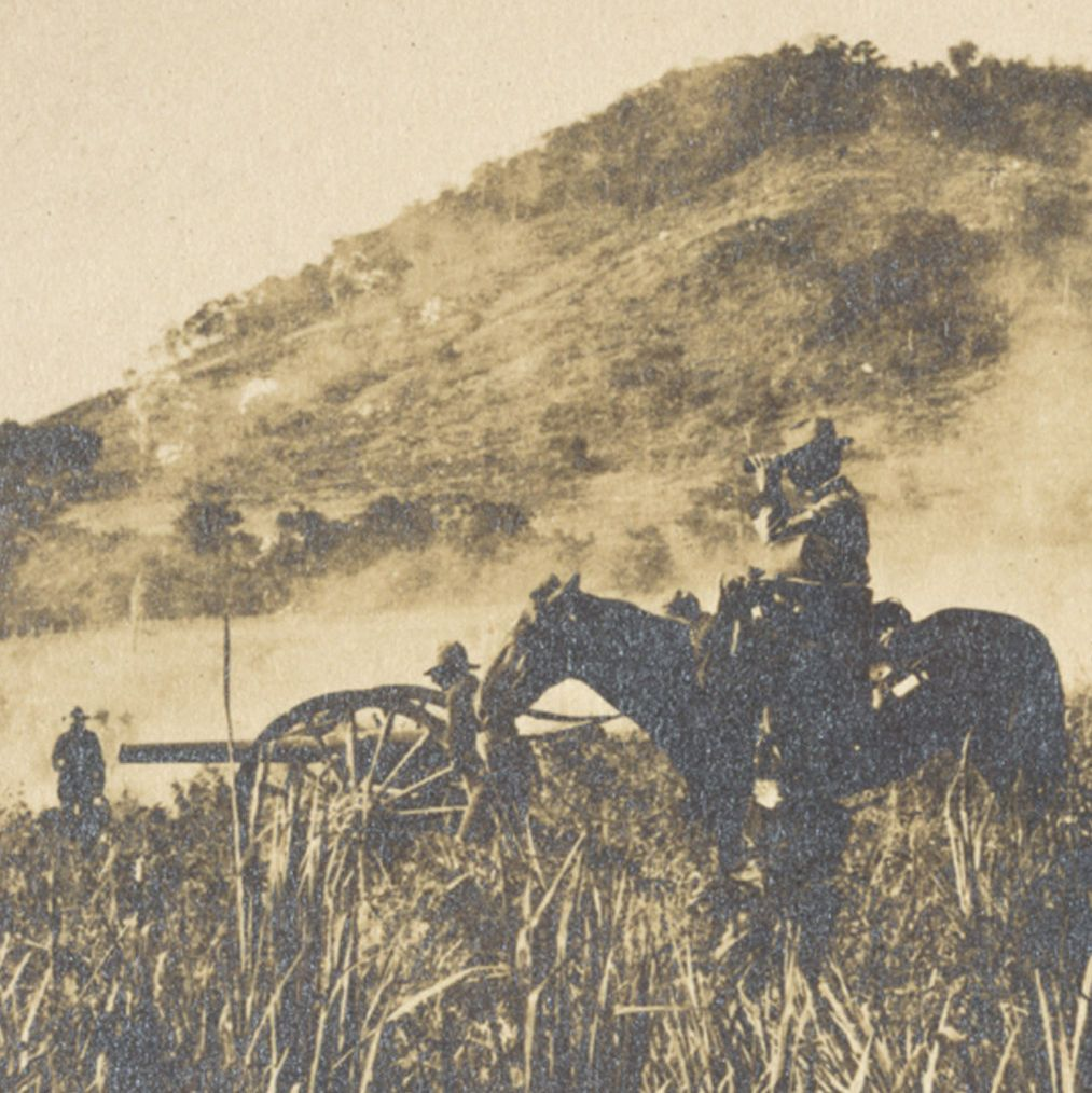 Photograph of Battle During the Spanish-American War