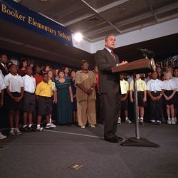 911: President George W. Bush - Remarks to the Nation
