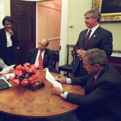 911: President George W. Bush and Speech Preparation