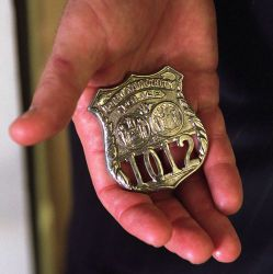 911: President George W. Bush with Badge