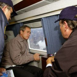 911: President George W. Bush at Ground Zero