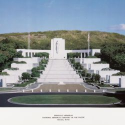 Honolulu Memorial, National Memorial Cemetery of the Pacific Hawaii