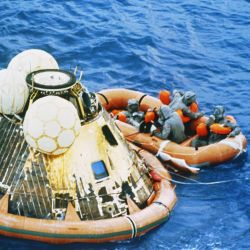 Recovery of Apollo 11 Astronauts