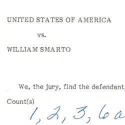William Smarto Guilty Verdict