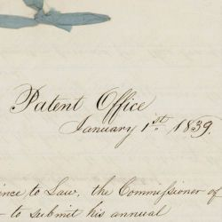 Annual Report from the Commissioner of Patents for 1838