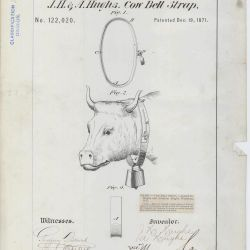 Patent Drawing for J. H. and A. Hughs