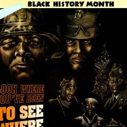 American Forces Information Service Black History Month Poster