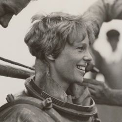 Amelia Earhart Deep Sea Diving off Block Island