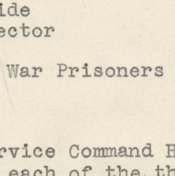 Memorandum from Henry Treide, War Manpower Commission, to George Cross, Acting Director of the Bureau of Placement, Recommending the Allocation of War Prisoners to Work in the Food Processing Industry