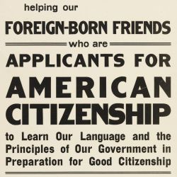 Foreign-Born Friends who are Applicants for American Citizenship