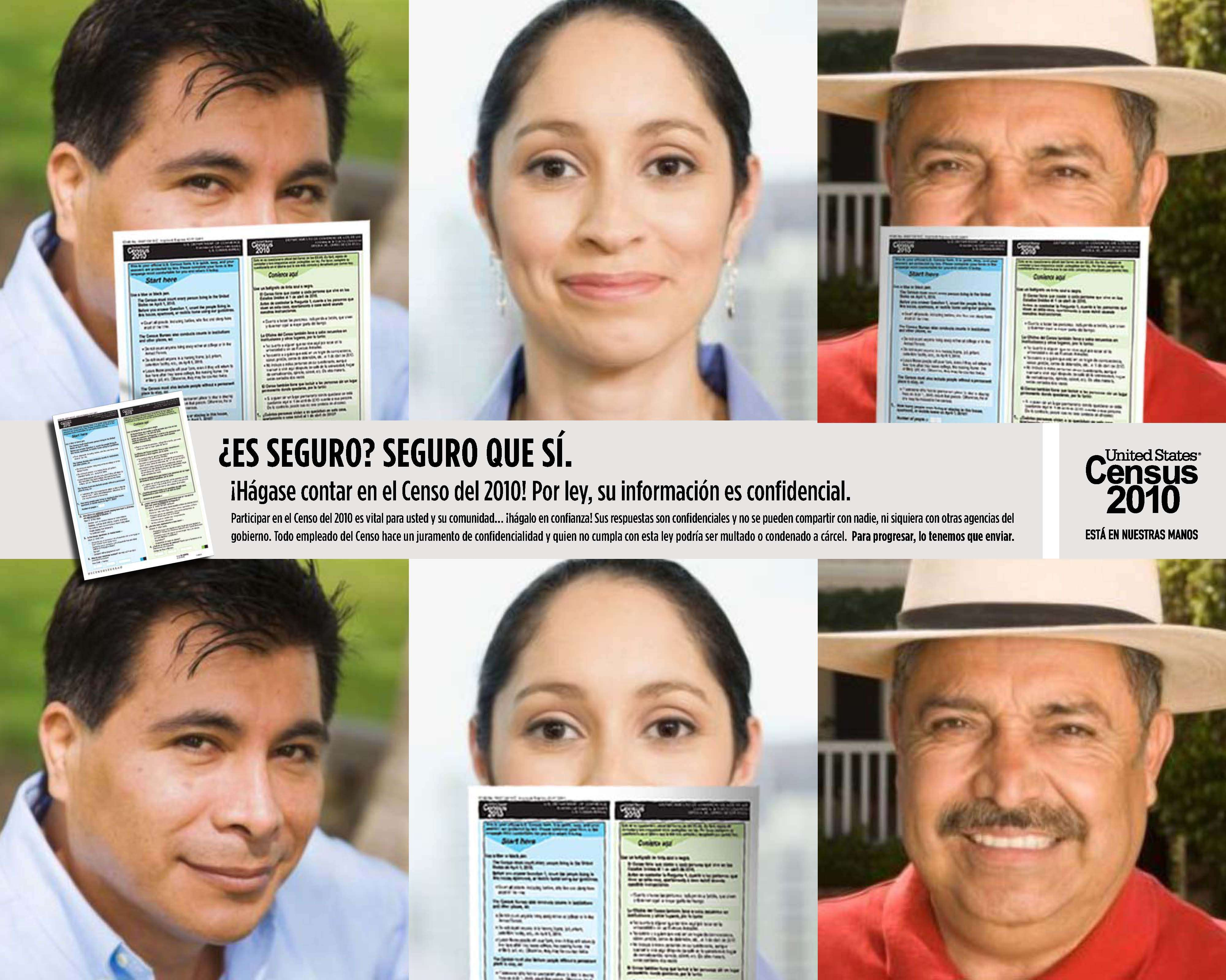 Hispanic Census Confidentiality Poster