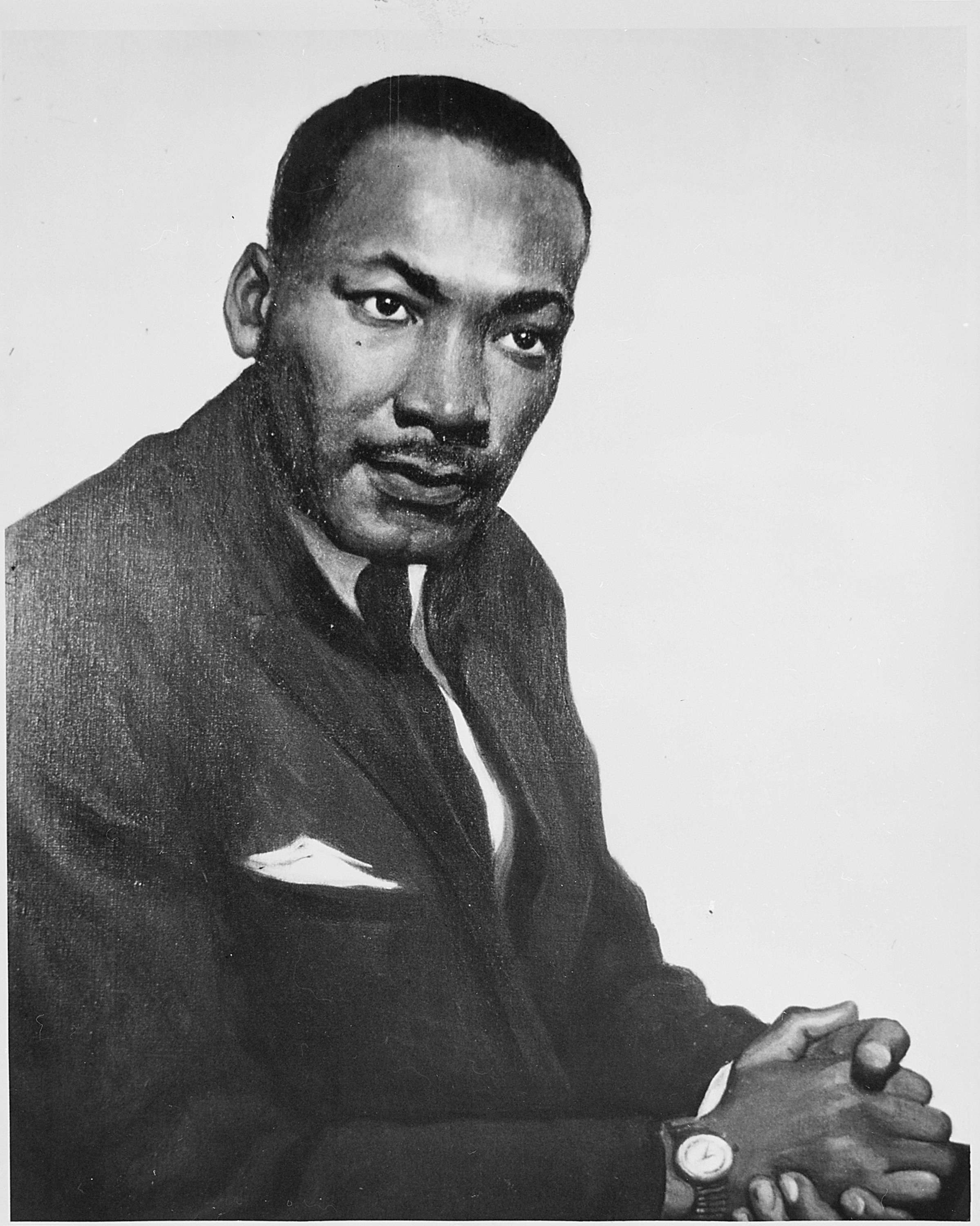 Portrait of Martin Luther King, Jr
