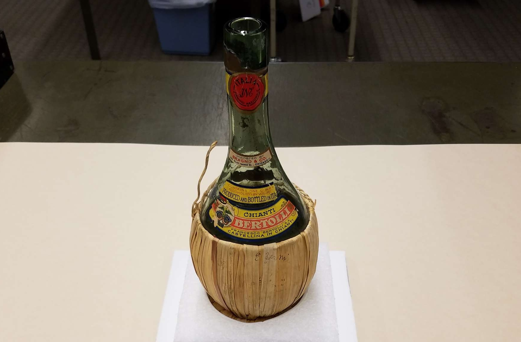 Chianti Bottle from the Manhattan Project