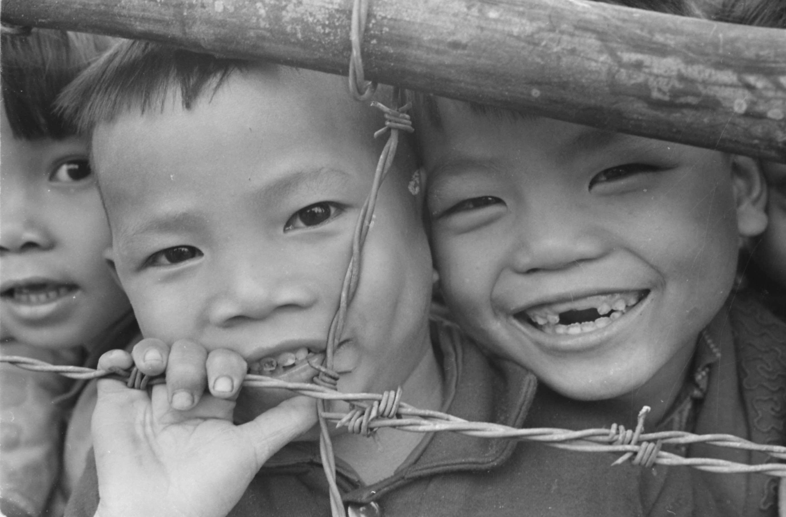 Vietnamese Children of the Phong Dien Refugee Hamlet