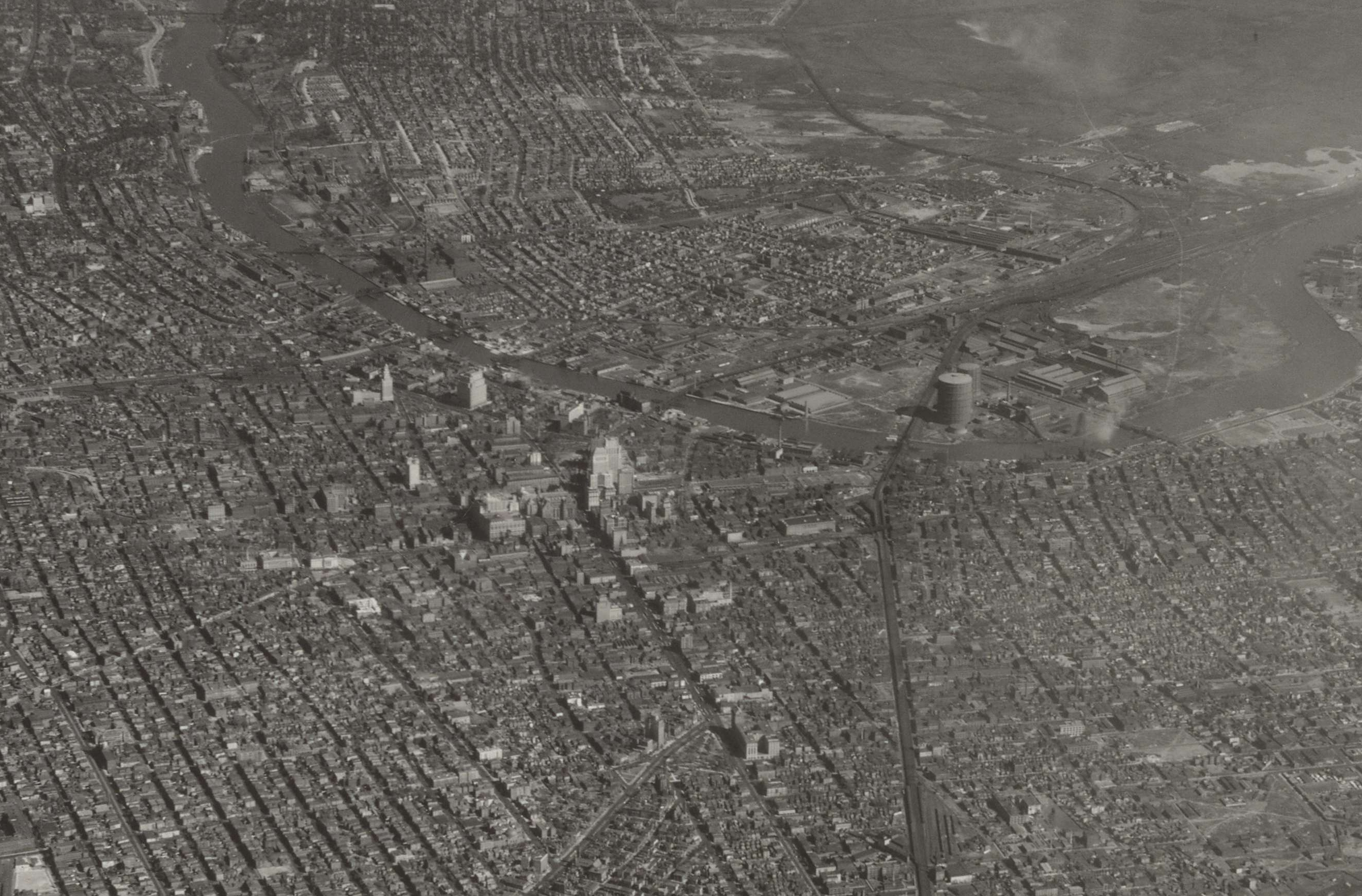 Airscape of Newark, New Jersey and Surroundings