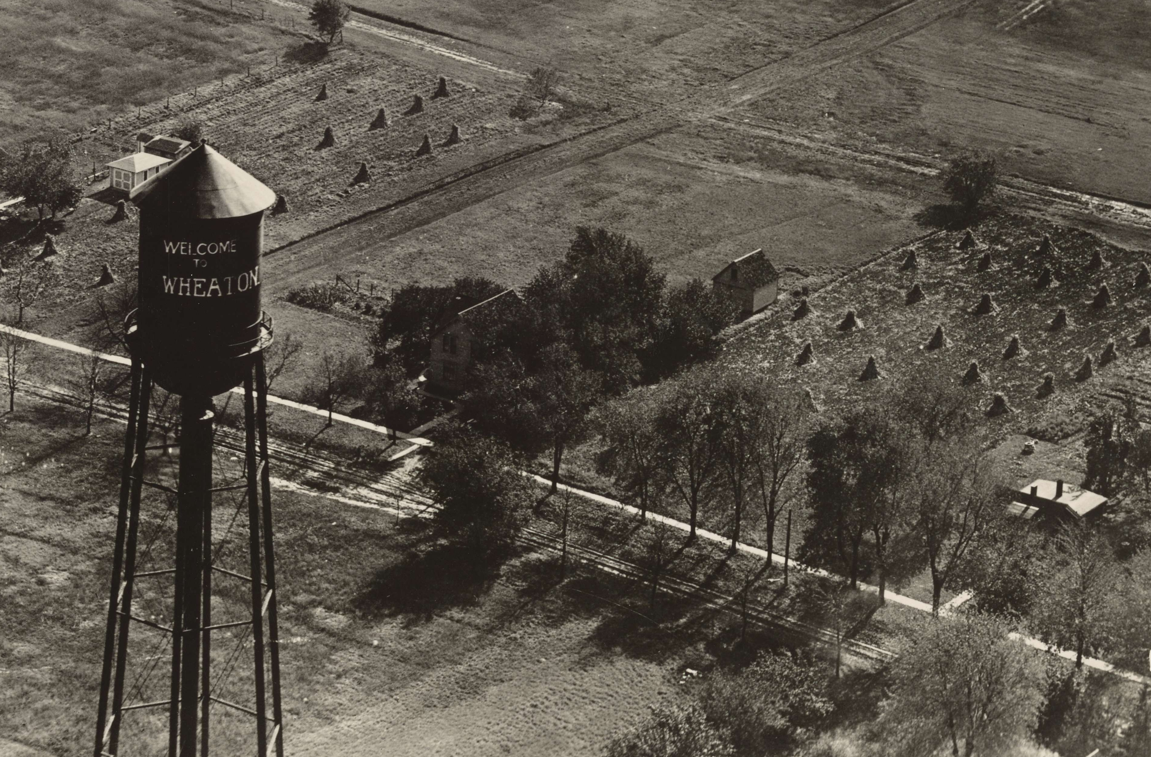Airscape of Wheaton Water Tower, Millville, NJ