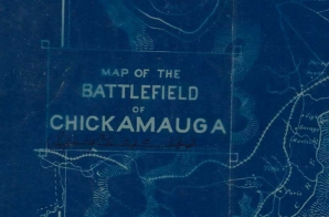 Map of Battlefield of Chickamauga
