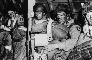 Paratroopers Before the Assault on D-Day