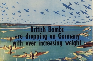 British Bombs are Dropping on Germany With Ever Increasing Weight