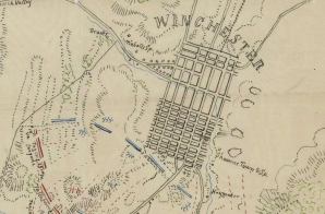Sketch of the Battle of Winchester, Virginia
