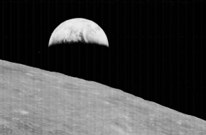 "First Photograph of an ""Earthrise"""