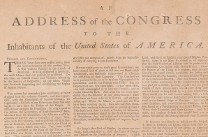 Address of the Congress to the Inhabitants of the United States of America