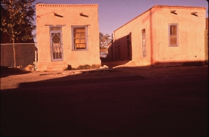 Adobe Houses in the Second Ward, the Spanish-Speaking Section of El Paso