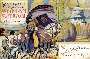 Official Program for the Woman Suffrage Procession