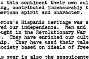 Proclamation - National Hispanic Heritage Week, 1976