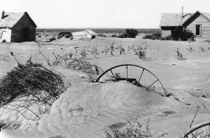 Farm Inundated with Sand from Soil Erosion