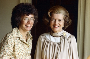 Billie Jean King and First Lady Betty Ford