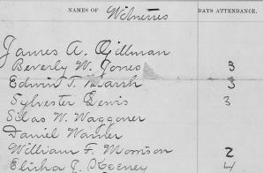 Witness Payment Report in U.S. vs Susan B. Anthony