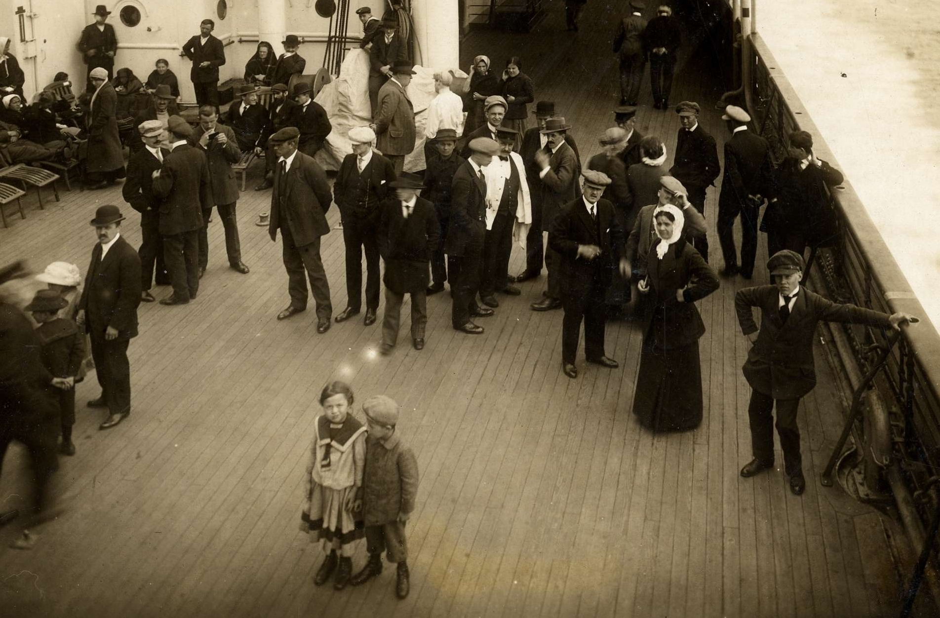 Ship Deck that was Similar to the Titanic