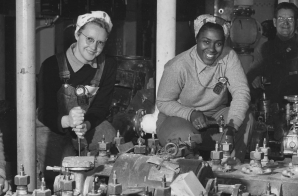 Women Shipfitters Working on the USS Nereus