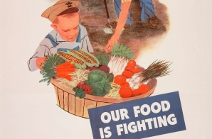 Plant A Victory Garden. Our Food Is Fighting.